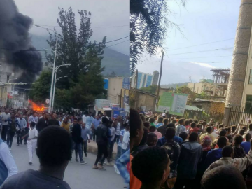 Ethiopian Express their Anger Over the Death of Simegew Bekele