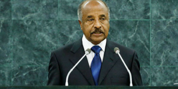Eritrean Foreign Minister Osman Salih Arrives in Addis