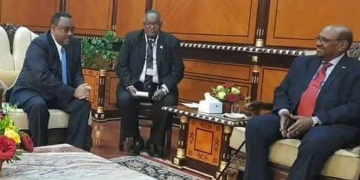 Demeke Mekennen Hold Talks With Al-Bashir