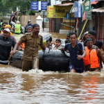 At least 350 Dead and 800,000 Displaced After Flooding in India