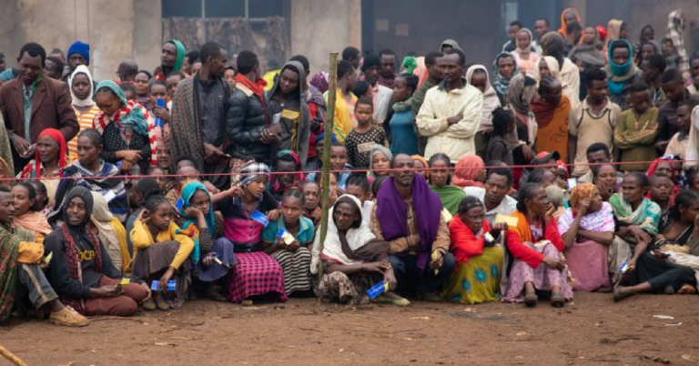 Locally Displaced People in Ethiopia Reached 2 4 m : UNICEF