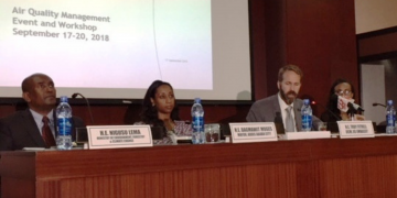 Addis Join Partnerships to Improve Air Quality