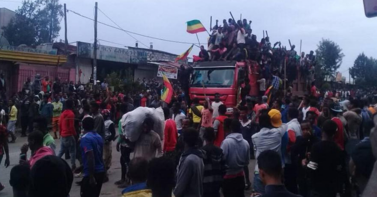 PM Abiy Calls For Calm After Confrontation Over Displayed