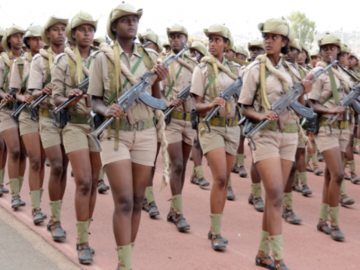 Eritrean women fighters (May 24, 2018)