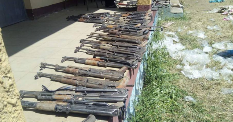 Police Seized Illegal Weapons in Oil Truck in Amhara Region