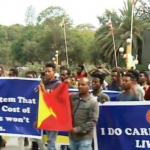 Tigray Region University Students Held a Demonstration in Mekele