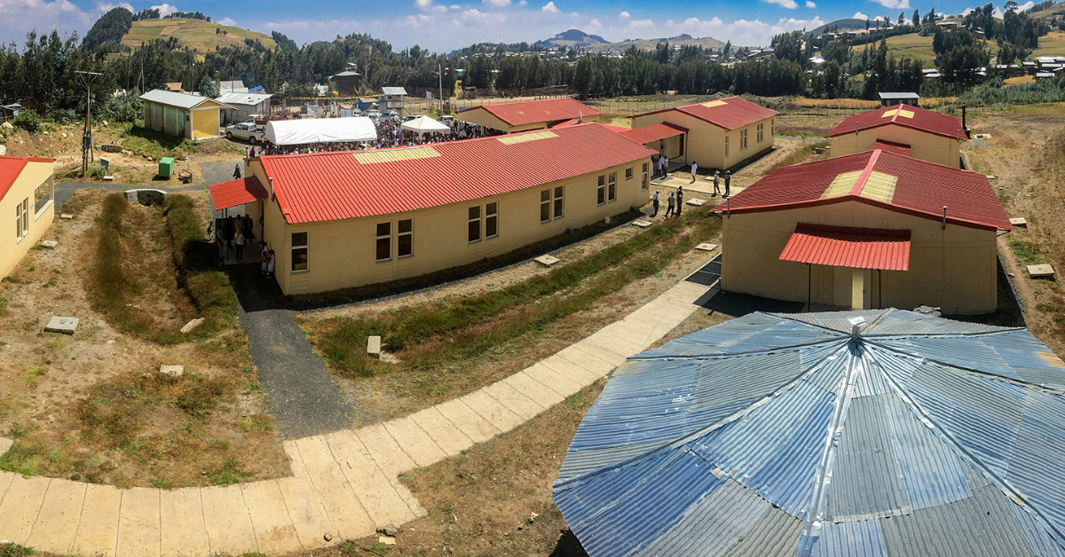 U.S. Completes Three Health Centers in Amhara that will Serve 75,000 People
