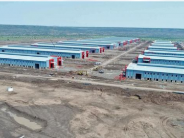 The construction of Dire Dawa Industrial Park completes