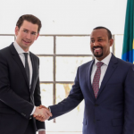 Youngest Austrian Chancellor Sebastian Kurz Arrived in Addis Ababa