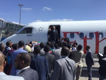 ONLF Senior Leaders Arrived in Addis Ababa