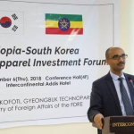 Ethio-South Korean Textile and Apparel Investment Forum Held in Addis