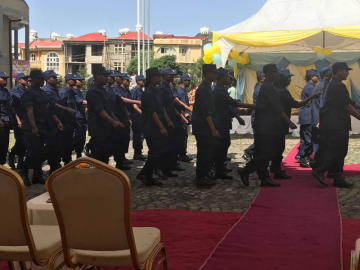 Addis Ababa Fire Fighters Share Experience and Expertise with Hawassa Industrial Park