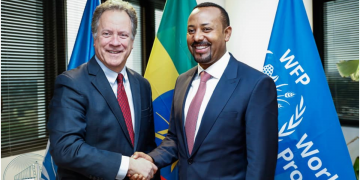 Abiy Met Development Partners During His Visit to Europe
