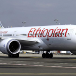 Ethiopian Airlines Plane Skids off Runway in Entebbe Airport Uganda During Landing