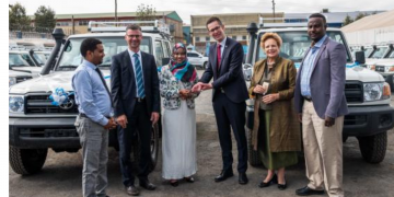 Ethiopia Gets Vehicles Donations to Support Mobile Mobile Health and Nutrition Services