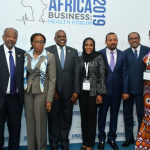 Didier Drogba Makes Appearance at Africa Business Forum in Addis Ababa