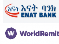 Enat Bank Partners With WorldRemit for Digital Money Transfers to Ethiopia