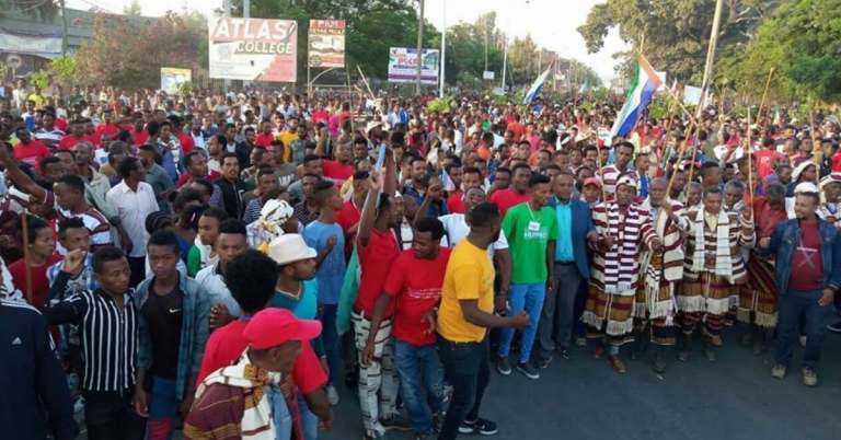 Rally Demands Immediate Sidama Statehood Held in Hawassa