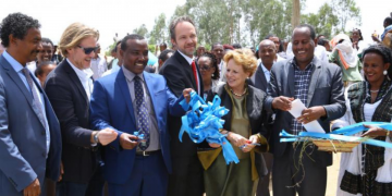 Model Water Supply and Waste Management Project Inaugurate in Oromia Region