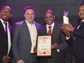 Ethiopian Wins to Two Cargo Service Awards