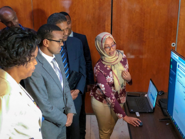 U.S. Embassy Supports Going Digital to Improve Ethiopia's Food and Drug Safety