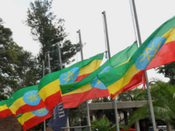 Ethiopian Flags Fly Half-Mast as the Country Mourns the Plane Disaster