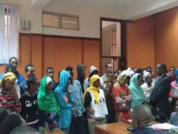 Kenya Police Arrest Ethiopian Migrants in Nyeri
