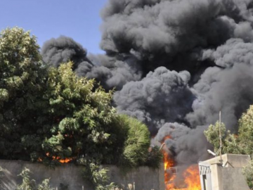 Fire Damages Candle Factory in Sululta