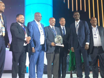 Ethiopian Wins the Prestigious 'African Champion of the Year' Award