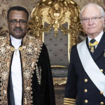 Ambassador Diriba Kuma Submitted his Credentials to Swedish king