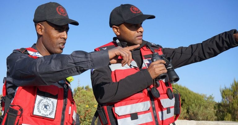 Two Ethiopian Origins Led Israeli Team Came to Fight Wildfire