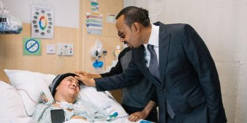 A 38 Year-old Ethiopian Women Return After 8 Years in Qatar Hospital