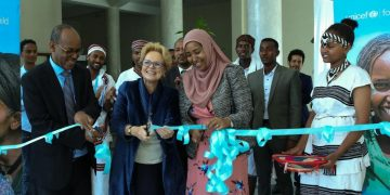 Commemorating UNICEF's 65th anniversary in Oromia Region, Ethiopia