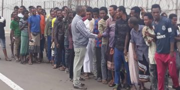 850 Ethiopian Nationals from Repatriated Saudi Arabia