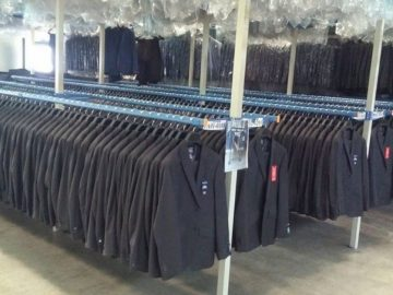 Factory Starts Exporting Men Suit to US