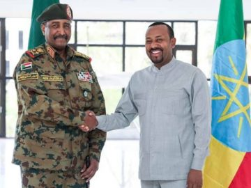 PM Abiy Met with Sudan's Military Council Leader