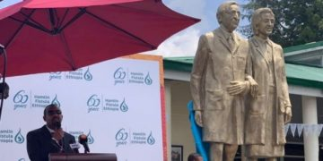 Statue Unveiled to Honour Dr. Catherine Hamlin