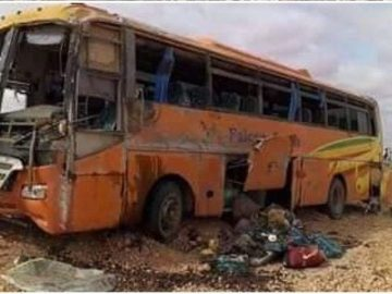 Five People Killed in a Bus Accident in Eastern Ethiopia