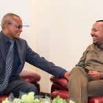 Prime Minister Abiy Arrives in Axum