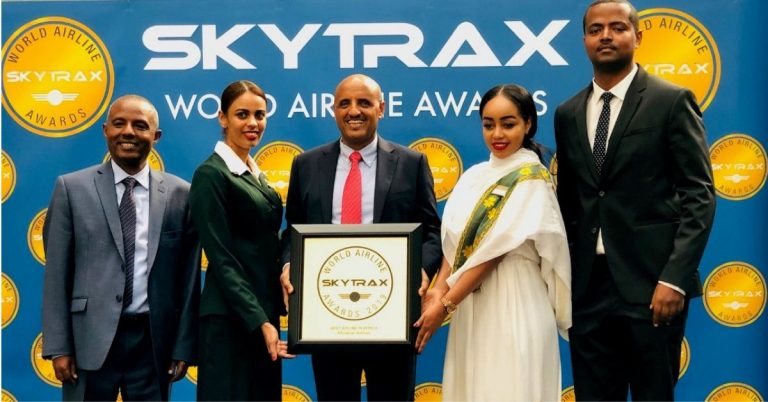 Ethiopian Airlines Group is Voted 'Best Airline in Africa' for 3rd Consecutive Year