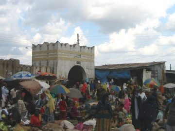Fire Breaks Out at Market Place in Harar