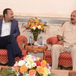 Abiy Ahmed in Eritrea For Two Days State Visit