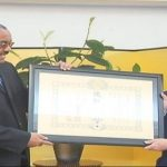 Hailemariam Receives 2019 Spring Imperial Decoration form Japan