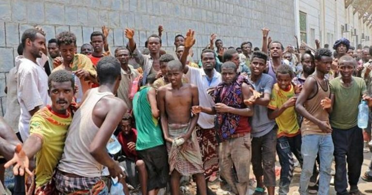 Ethiopians Abused on Gulf Migration Route