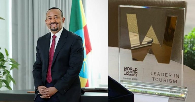 PM Dr Abiy Named Winner Of 2019 World Tourism Award