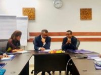 Amir Aman Meet and Discuss With Tedros Adhanom