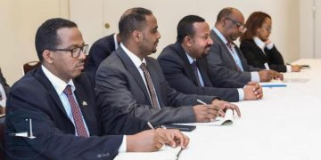Prime Minister Abiy Meet With Development Partners