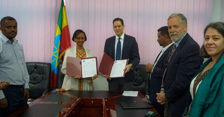 United States and Ethiopia Renew Partnership to End Tuberculosis