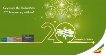 Ethiopian's Frequent Flyer Program, ShebaMiles, Turns 20