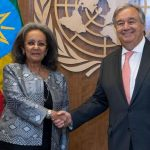 President Sahle-Work Meet with General Antonio Guterres